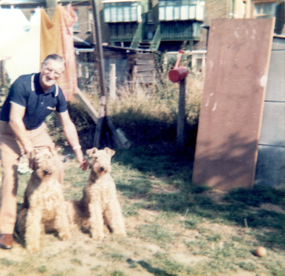 Bob & Sylvia dad dogs