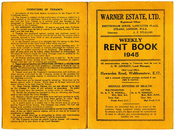 rent book 1945