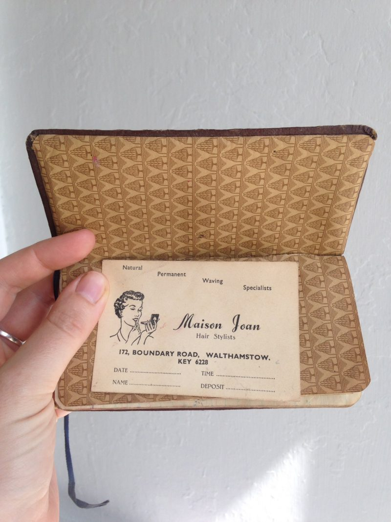 WWII diary from Warner Estate resident